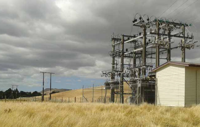 powerco substation NZ