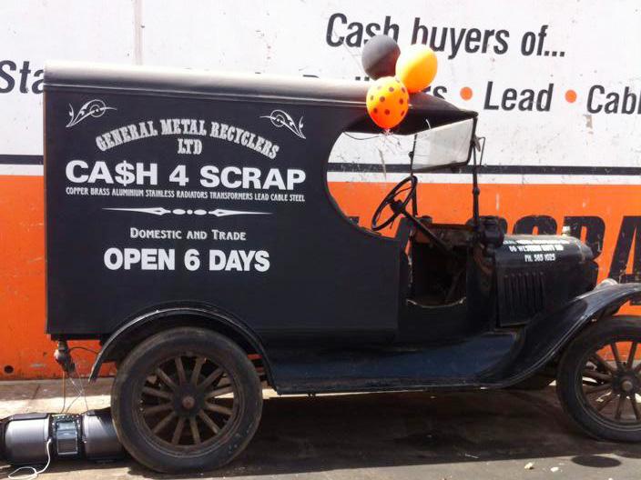 scrap metal dealers